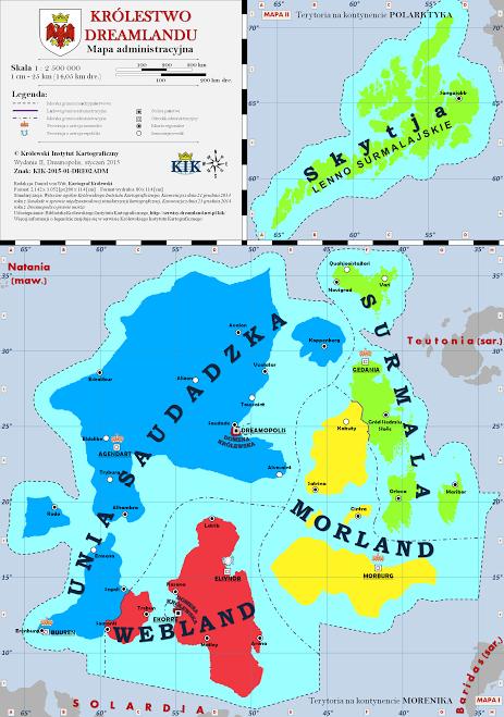 mapa KD